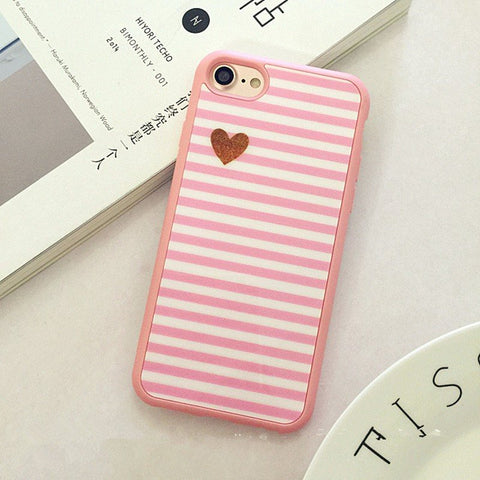 Iphone 7 Silicone Pink Case - olae