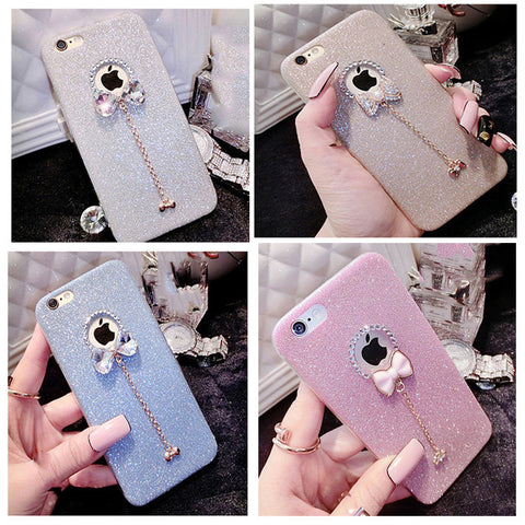 BOW KNOT  SILICONE CASE FOR  6 PLUS / 6S PLUS