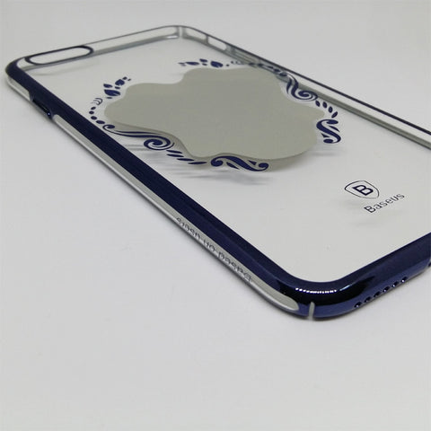 BASEUS ULTRA SLIM  TRANSPARENT MIRROR CASE FOR IPHONE 6 6S BLUE