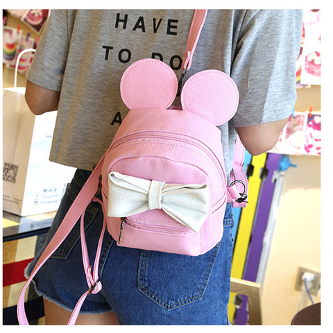 MICKEY EAR BACKPACK - PINK