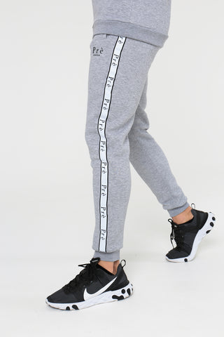 Enigma Taped Jogger - Grey