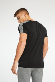 Prince of Wales Tape T-Shirt- Black