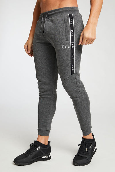 Enigma Taped Jogger - Charcoal