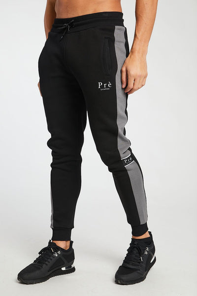 Eclipse Tracksuit Jogger - Charcoal/Black