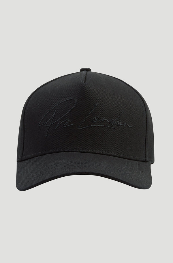 Signature Trucker Cap - Black/Black