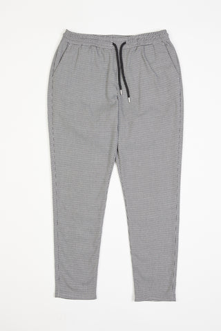 Houndstooth Trousers - Grey