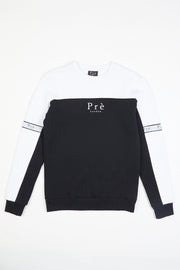 Eclipse Crew Sweat - White/Black