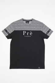 Prince of Wales  Eclipse T-Shirt - Black