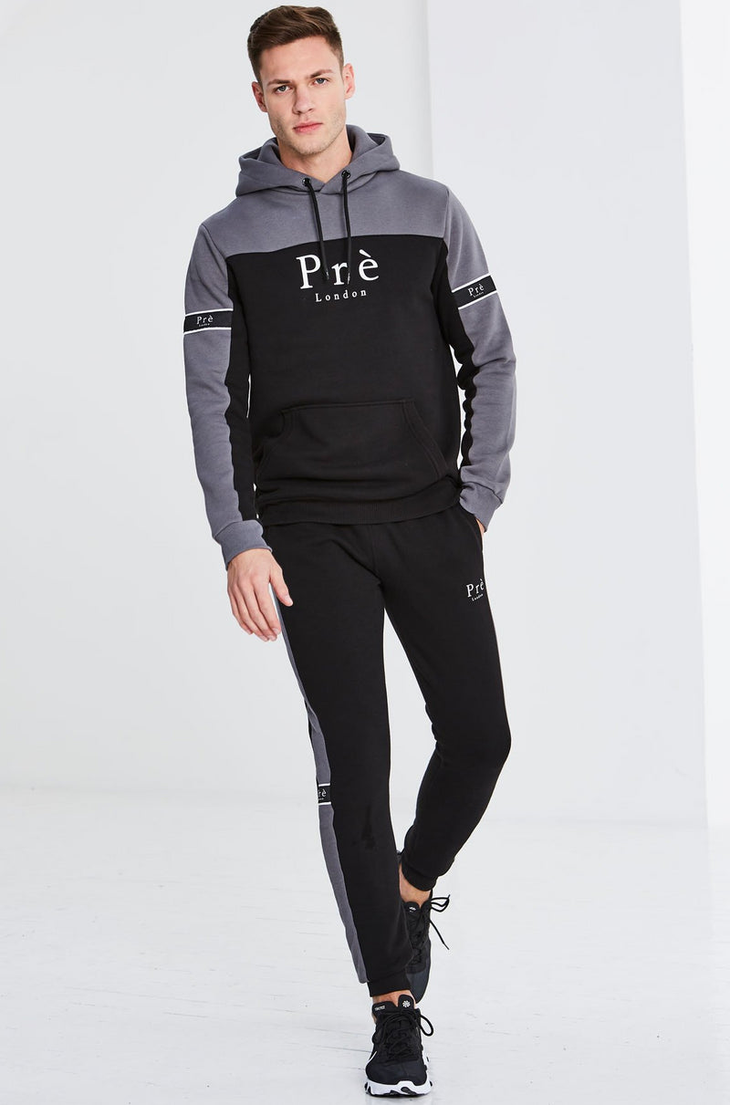 Eclipse Tracksuit - Charcoal/Black