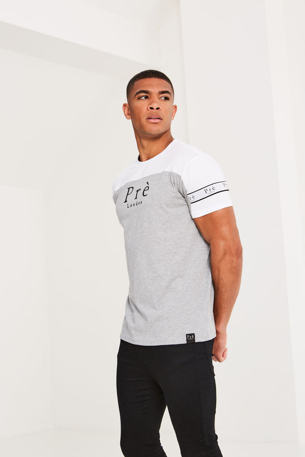 Eclipse T-Shirt - White/Grey