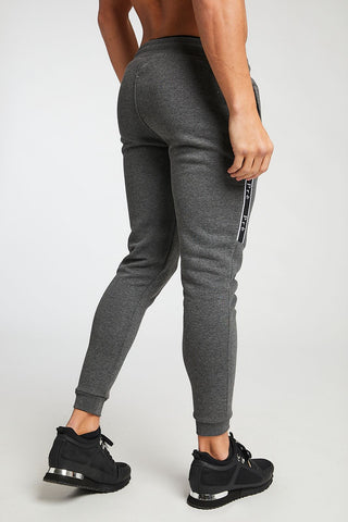 Enigma Taped Joggers - Charcoal