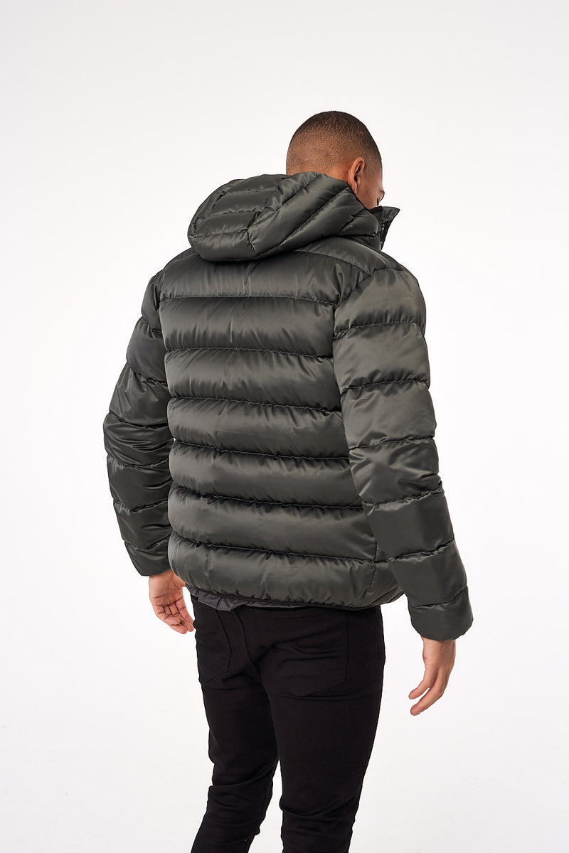 Alsace Puffer Jacket - Grey