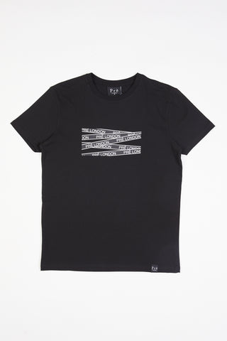 Metz T-Shirt  - Black/White