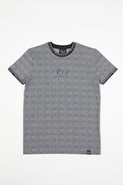 Prince of Wales Power T-Shirt - Black/White