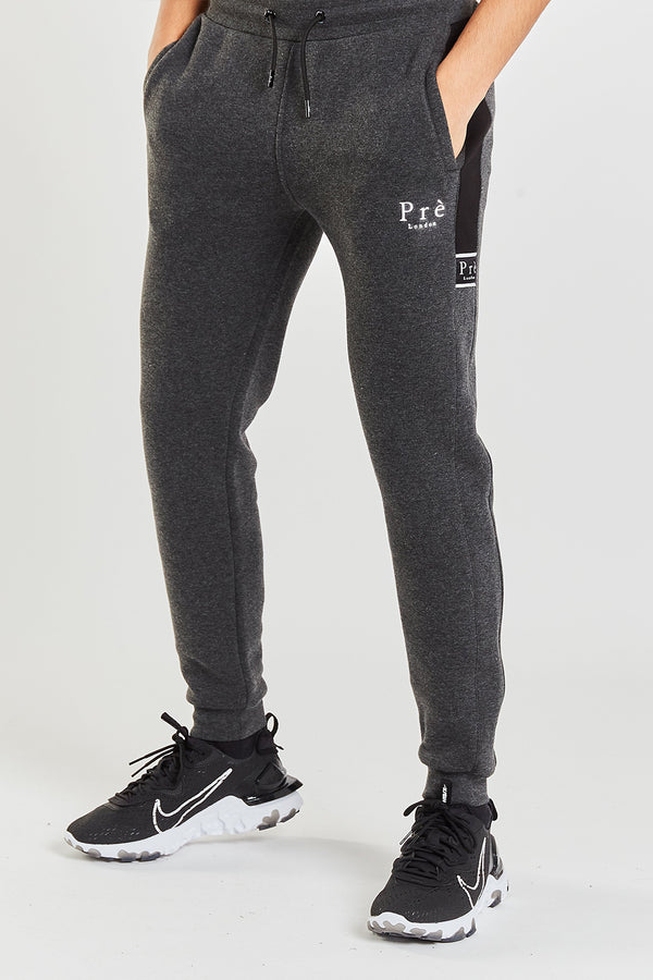 Eclipse Jogger - Black/Charcoal Marl