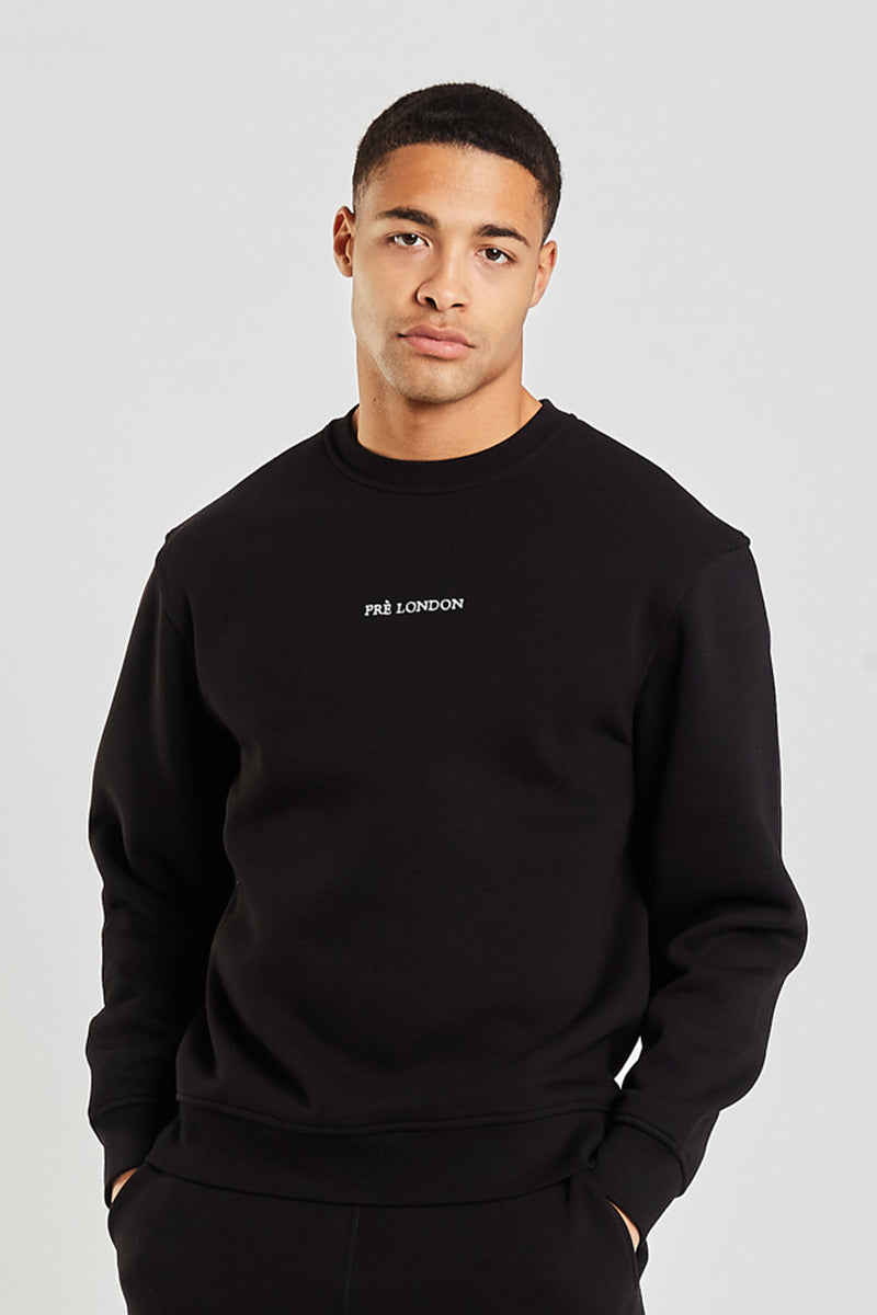 Prè Essentials Sweat - Black