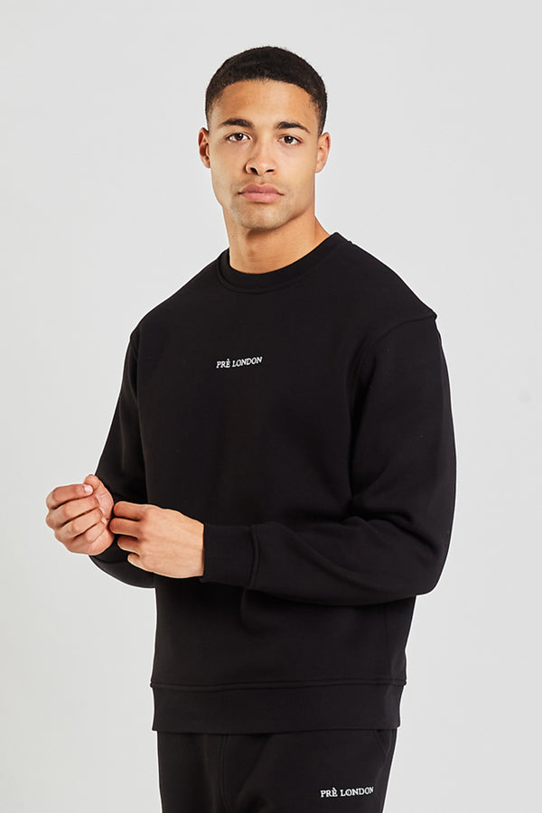Prè Essentials Oversize Sweat - Black