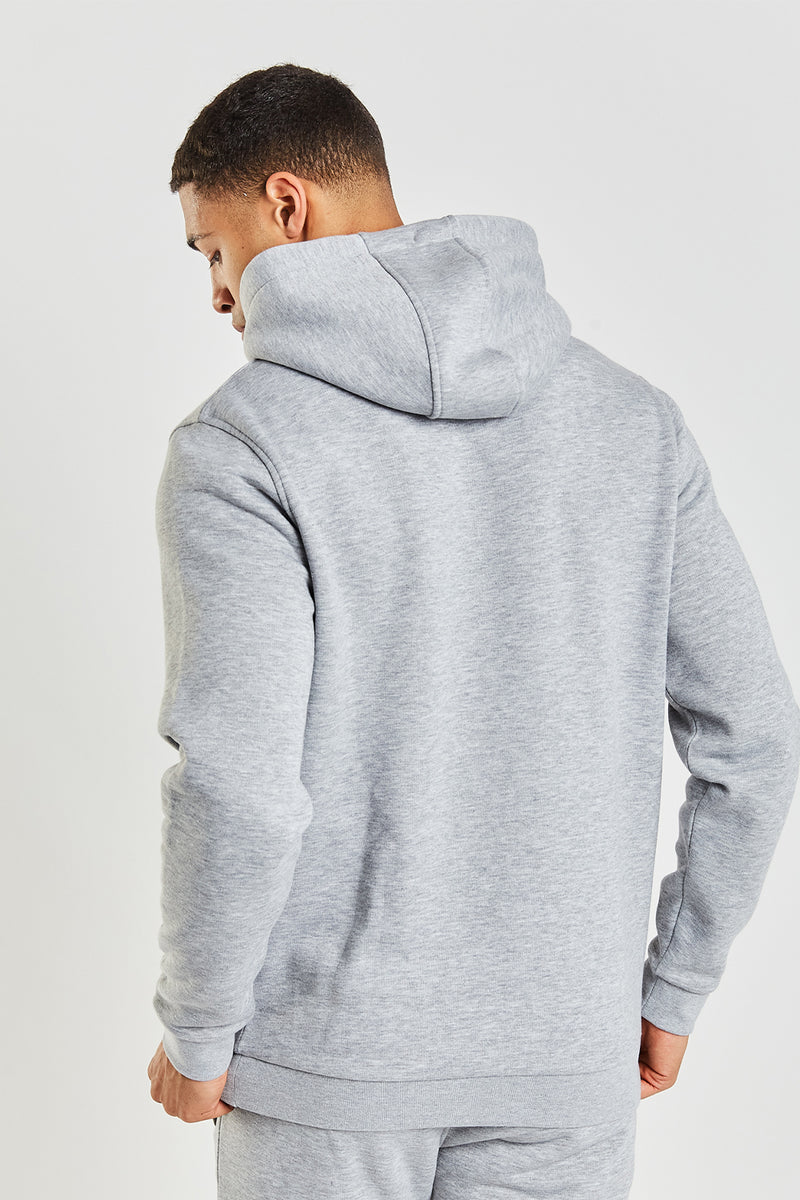 Essential Hood - Grey Marl