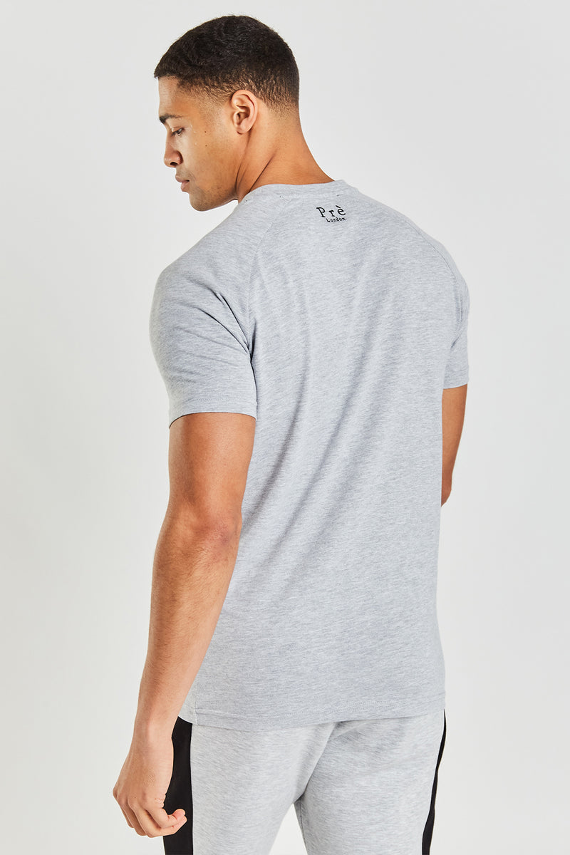 Alvito T-shirt - Grey Marl
