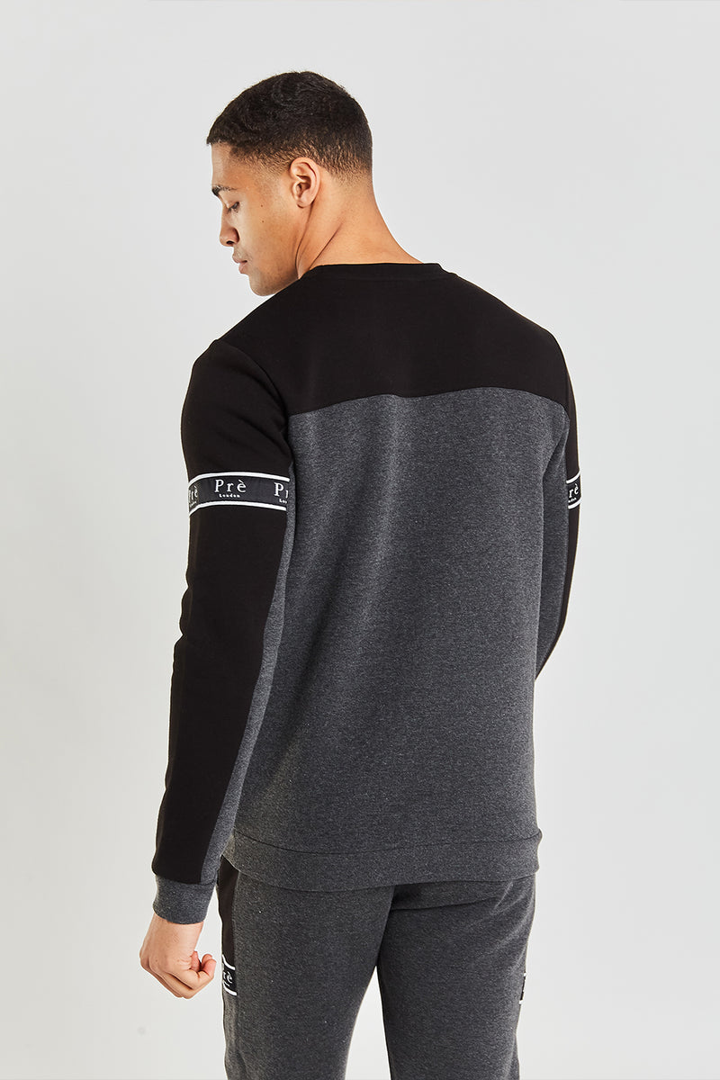 Eclipse Sweat - Black/Charcoal Marl