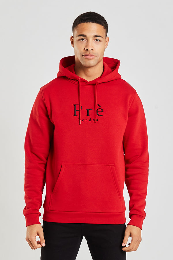 Essential OTH Hood - Samba Red