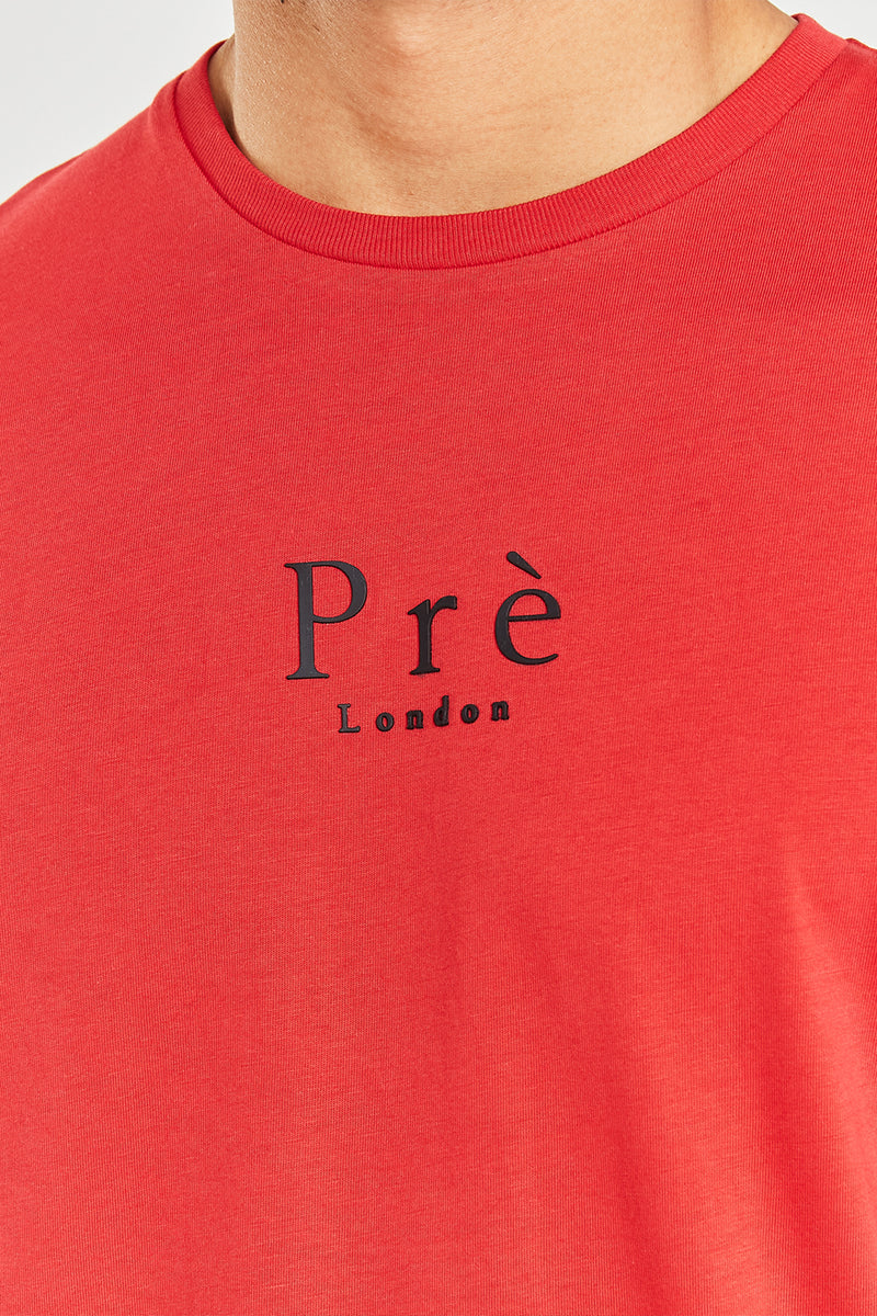Essential T-shirt - Samba Red