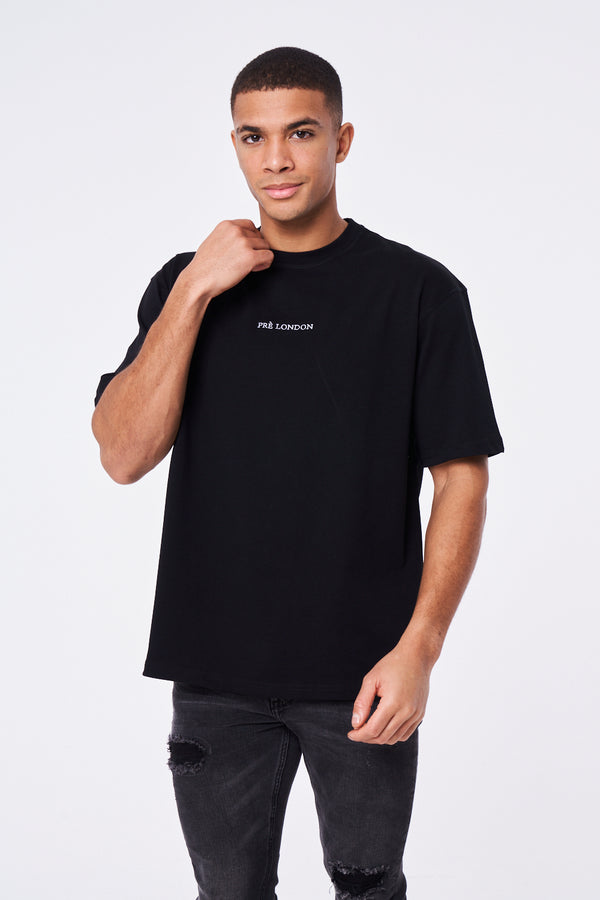 Prè Essentials Oversize T-Shirt - Black