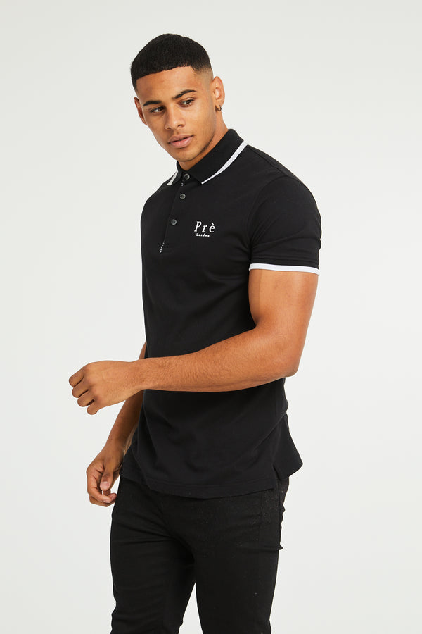 Force Polo T-Shirt - Black