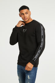 Rochelle Crew Sweat - Black