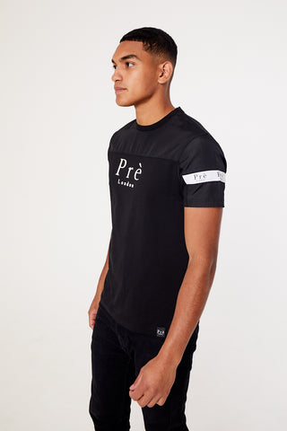 Eclipse Nylon T-shirt - Black