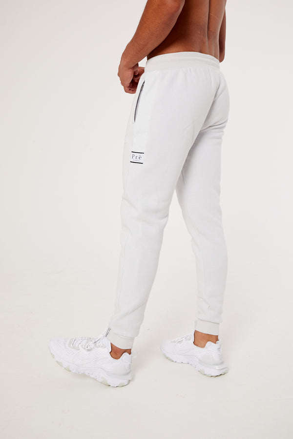 Eclipse Nylon Jogger - Moon Grey