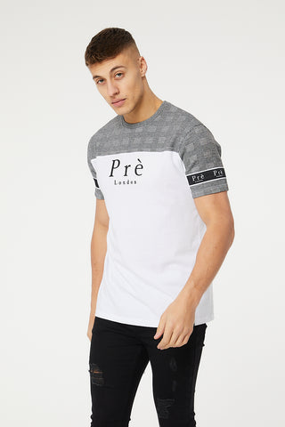 Prince of Wales Eclipse T-Shirt - White