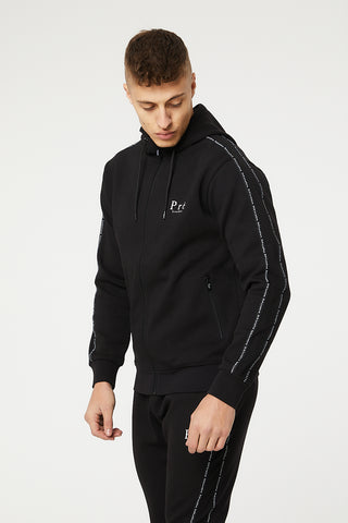 Impulse Full Zip Hoodie - Black