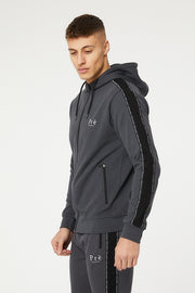 Impulse Full Zip Hoodie - Charcoal