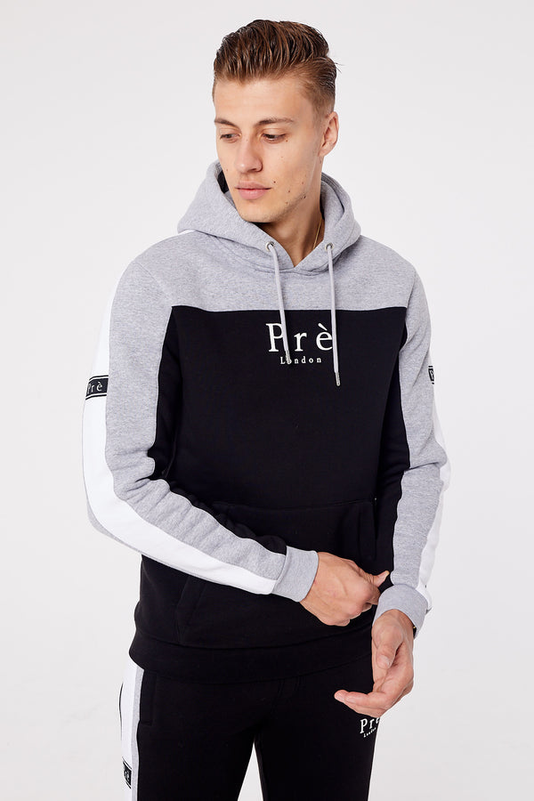 Altura Hood - Black/Grey Marl