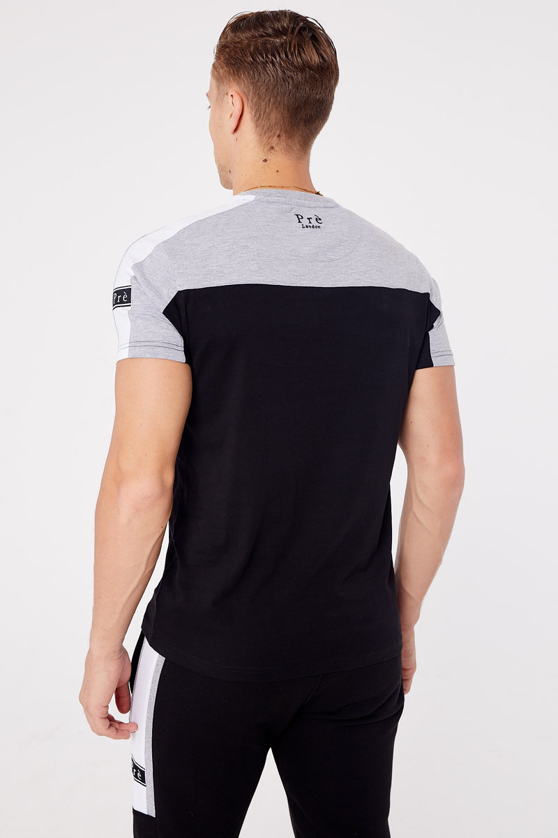 Altura T-Shirt - Black/Grey Marl