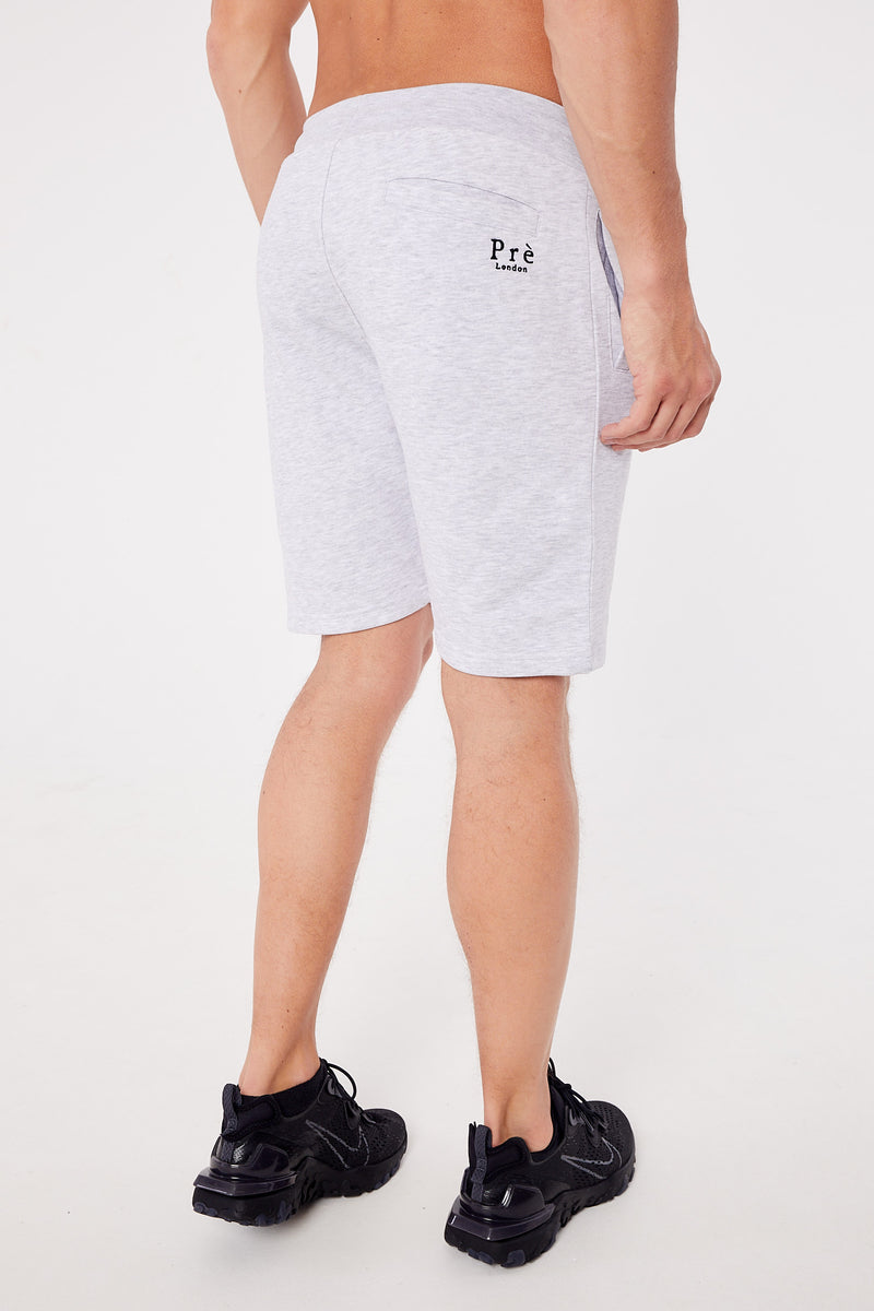 Essential Premium Shorts - Grey Marl