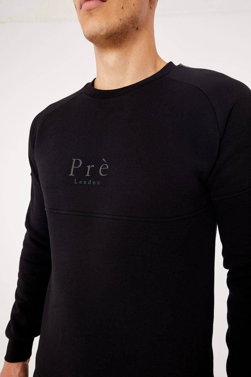 Arcos Reflective/Iridescent Sweat - Black