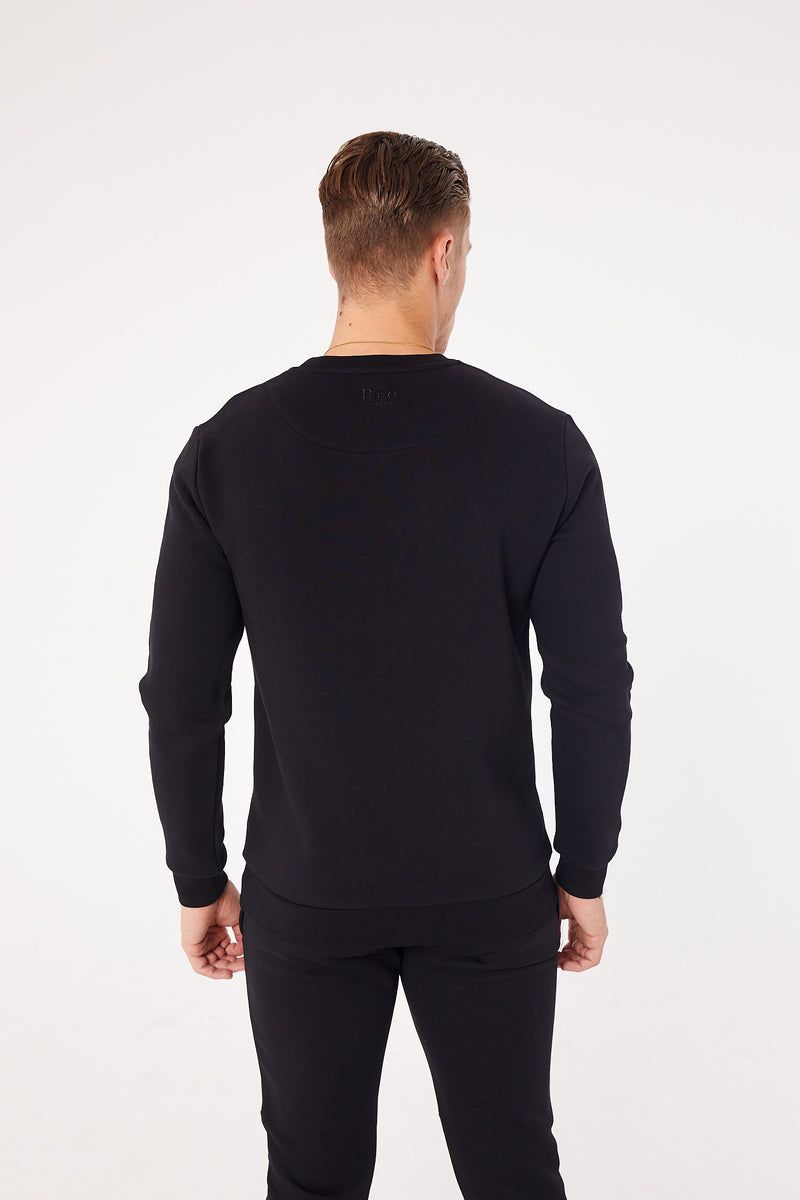 Molina Sweat - Reflective - Black