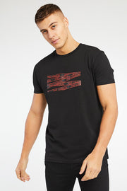 Metz T-Shirt - Black/Red