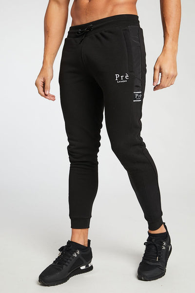 Eclipse Nylon Joggers - Black