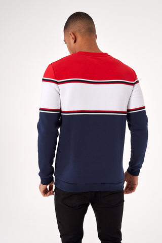 College Sweat Red/White/Blue