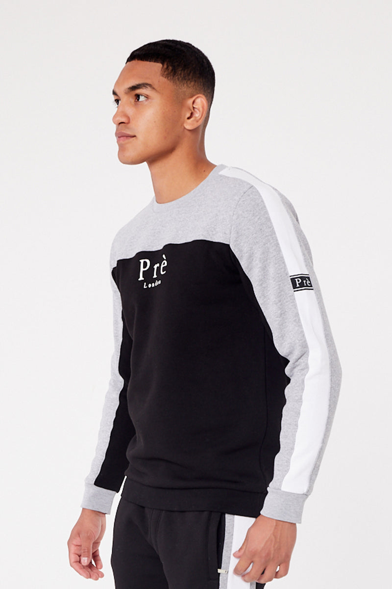 Altura Sweat - Black/Grey Marl
