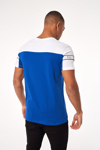 Eclipse T-Shirt - White/Blue
