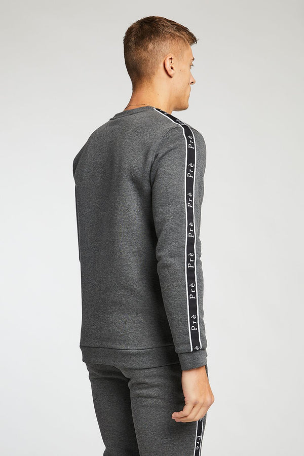 Enigma Taped Sweat - Charcoal