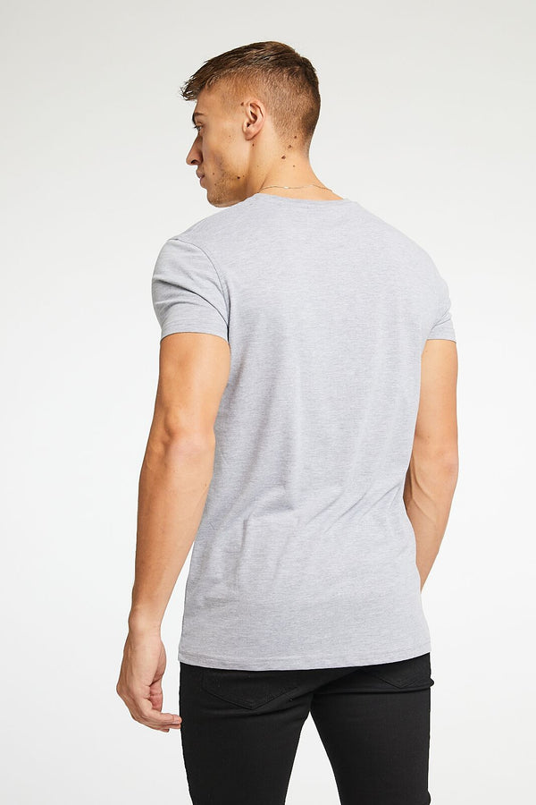 Essential T-Shirt - Grey Marl