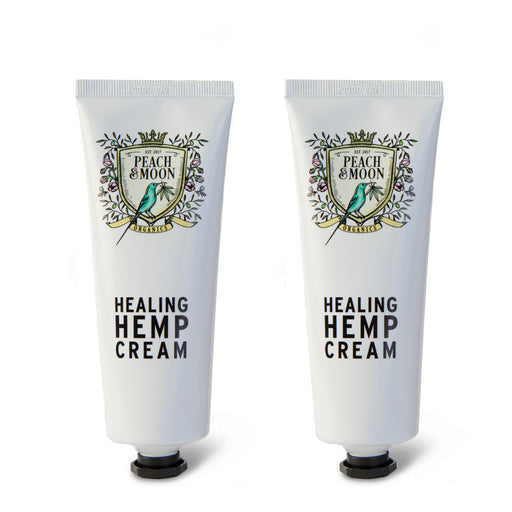Healing Hemp Cream - Set of 2 - Peach & Moon Organics