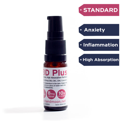 CBD Plus (Water Soluble) - Peach & Moon Organics