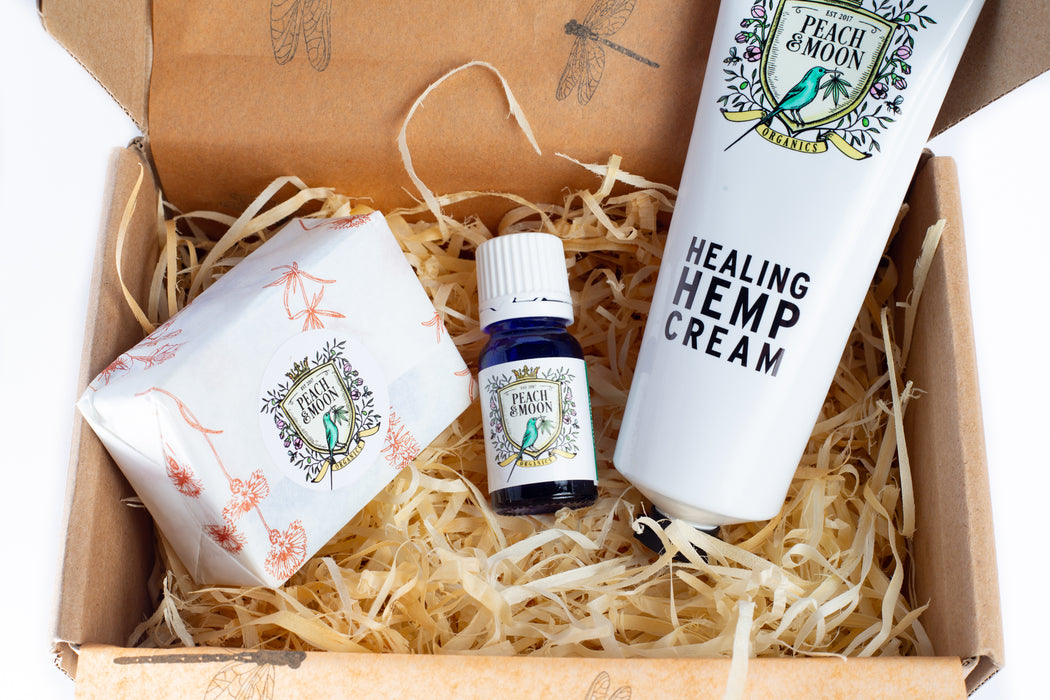 Gift Box: Hello Clarice - Peach & Moon Organics