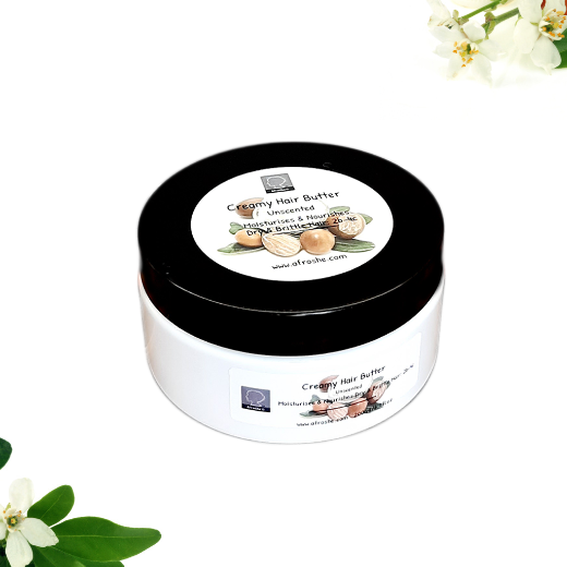 creamy hair butter scented
